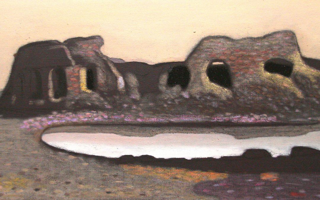 Olavi Heino: Fort Slava – byggd på sandenDikter och målningar om fästningen på Kukouri 5.11.2020-21.2.2021