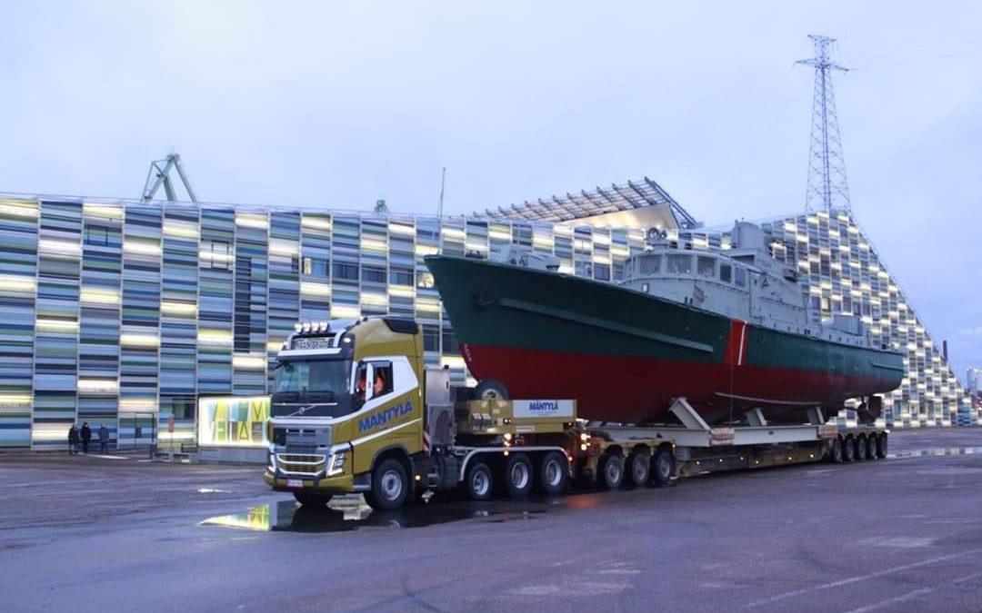 Vartiolaiva Telkkä palasi yleisön nähtäville19.12.2019