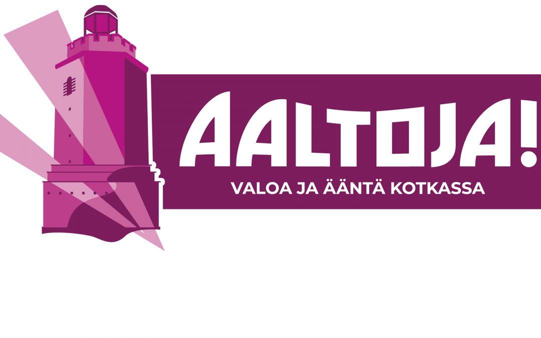 Aaltoja!-festivaaliValoa ja ääntä Kotkassa ja Vellamossa 13.-16.10.2021