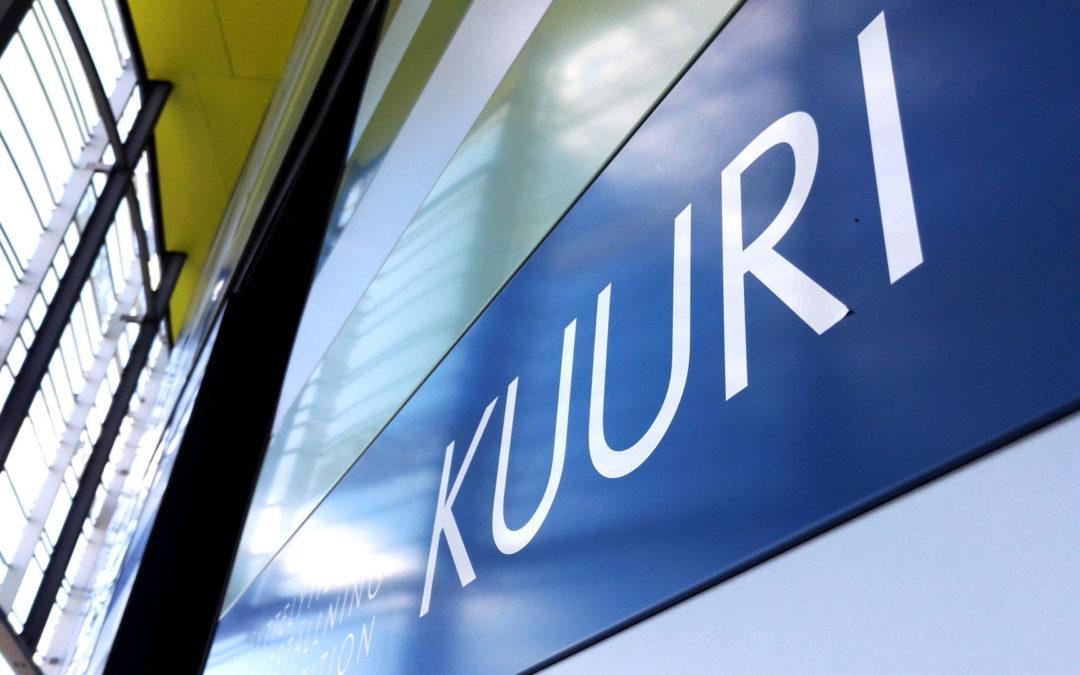 Ulkonäyttelytila Kuuri2.6.-30.8.2020