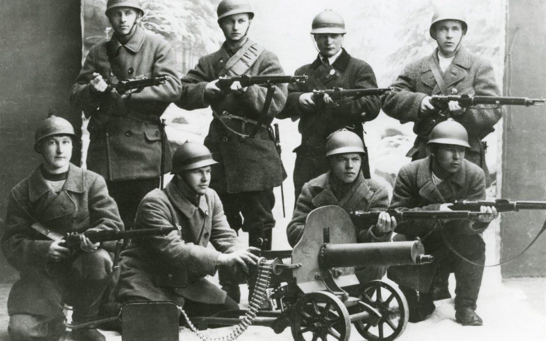 Mosaiikki: 1918 – Kadonnut kirje. Kuunnelma.4.5.–30.12.2018