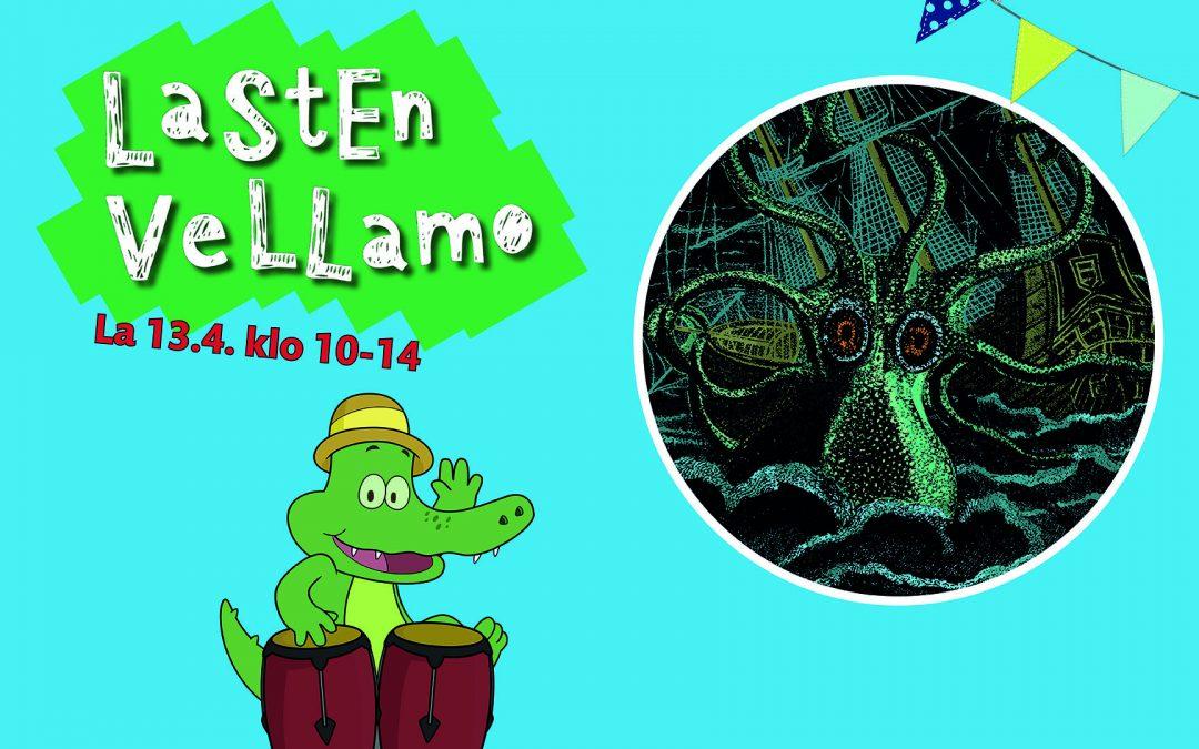 Lasten Vellamo. Tapahtumapäivä perheille.13.4.2019 klo 10-14