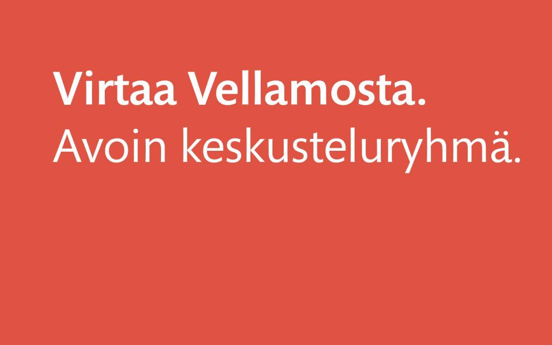 Virtaa Vellamosta. Meripäivämuistot.21.9.2021 klo 10-11.30