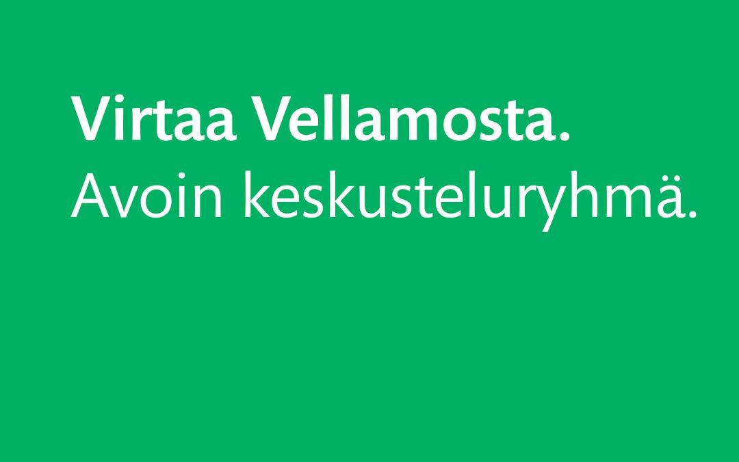 Virtaa Vellamosta. Luontoja – korona-ajan luontokokemuksia.5.10.2021 klo 10-11.30